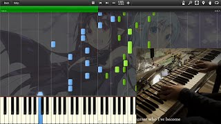 Shirushi - Sword Art Online 2 ED Piano Arrangement (Tehishter) - Synthesia