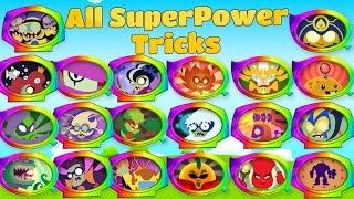 Plants vs Zombies Heroes All SuperPower Tricks Primal Video Game PVZ