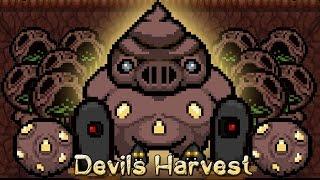 DISPARO MONSTROS!! - DEVIL'S HARVEST - AFTERBIRTH + MODS