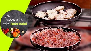 Cook It Up With Tarla Dalal - Ep 8 - Stuffed Potato Skins, Mexican Bean Faheeta and Chocolate Mousse
