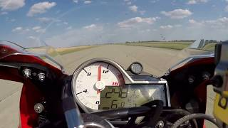 BMW S1000RR launch control  0-300