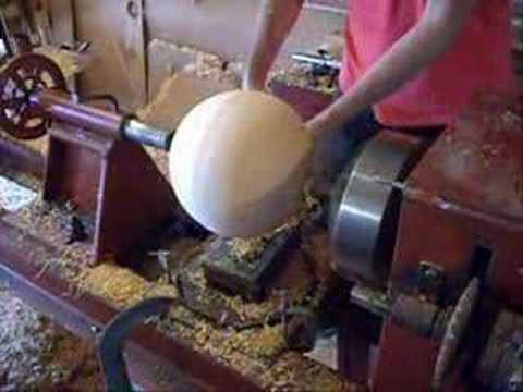 How to make a perfectly round wood ball