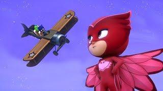 PJ Masks en Español -  Episodio 12 - Emprende el vuelo, Buhíta - Dibujos Animados