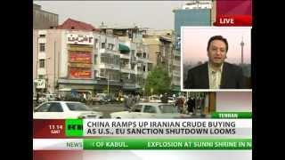 China pumps Iran