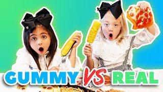 ULTIMATE GUMMY VS. REAL FOOD CHALLENGE!