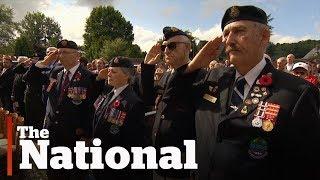 Dieppe Raid: 75th anniversary tribute
