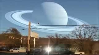 لو كانت الكواكب مكان القمر كيف سنشاهدها من الارض HD