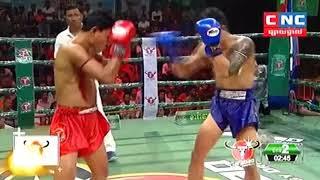 Him Serey vs Hanphit Navin (Thai) CNC Khmer Boxing 13/10/2018