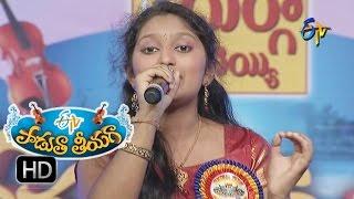 Yemito Ee Maaya Song - Supraja Performance in ETV Padutha Theeyaga - 13th June 2016