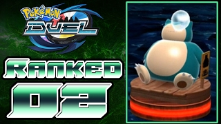 Pokemon Duel - Online Ranked League Battles Part 2 | SNORLAX IS TOO STRONG!