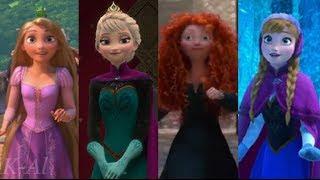 Let It Go: A Tribute to 3D Disney Princesses