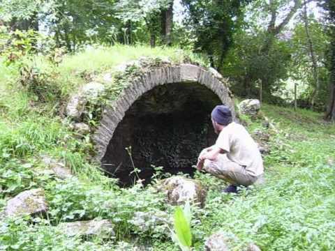St Ruman's Holy Well, Ruan Lanihorne, Roseland, Cornwall.