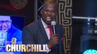 MC Jessy on Churchill Show