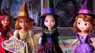 The Broomstick Dance   Music Video   Sofia the First   Disney Junior