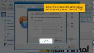 Configure Incredimail with A.M.A.R Hosting Shared Web and Email POP3 Email Account