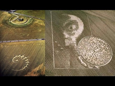 The Mystery of the Demon Alien CROP CIRCLES (Word from Jehovah God)