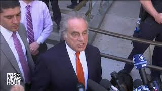 WATCH: Lawyer for Harvey Weinstein speaks after court appearance