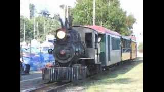 Narrow Gauge Trains on the Waterfront