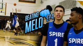 """LaMelo Ball... OVERRATED."" Undefeated Team Is READY To Take Down Spire. Melo Pulls From HALF COURT!"