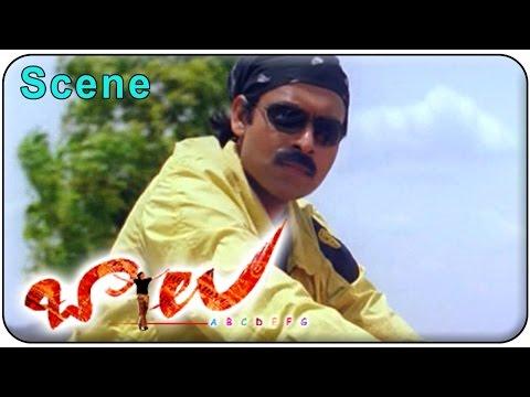 Balu Movie || Pawan kalyan Powerful Action Scene || Pawan kalyan,Shriya,Neha Oberoi