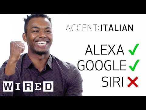 8 People Test Their Accents on Siri Echo and Google Home WIRED