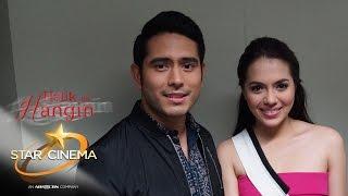 "Julia and Gerald discuss intense love scene in ""Halik sa Hangin"""