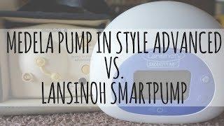 Medela Pump In Style Advanced VS. Lansinoh SmartPump Breast Pump Comparison // Momma Alia