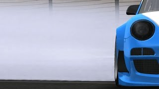 RFactor - GT Porsche - Sakhir Bahrain (Onboard In Rain)