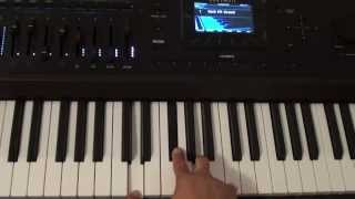 How to play Thinking Out Loud on piano - Ed Sheeran - Piano Tutorial