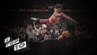 Top 10 Finishers of WWE - 2016