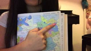 Asmr German Lesson: Europe and the world