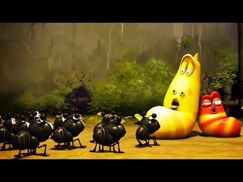 LARVA - LARVA VS ANTS | Cartoon Movie | Cartoons For Children | Larva Cartoon | LARVA Official
