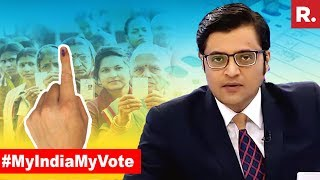 India Chooses Ballot Over Bullet | The Debate With Arnab Goswami