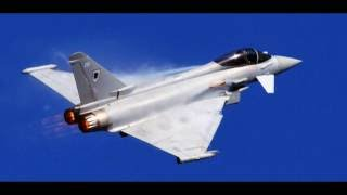 Typhoon Sonic Booms Yorkshire 02/05/16 Audio Clip from CCTV.