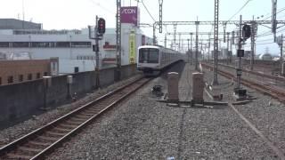 東急5000系5114F半蔵門線直通準急中央林間行き新越谷駅発車