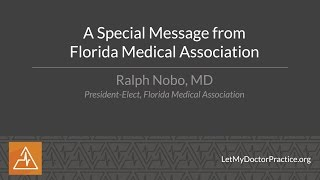 A Special Message from the Florida Medical Association