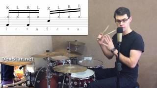 Two Handed Hi-Hat Groove 2 | Drum Lesson by Dex Star