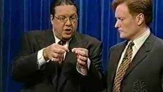 Penn & Teller Demonstrate Sleight of Hand - 7/11/2001