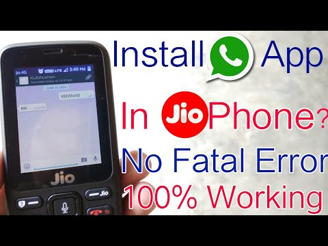 Xxx Mp4 How To Install WhatsApp Apps In Jio Phone Use WhatsApp In JioPhone 100 New Tips Tricks 3gp Sex