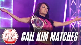Gail Kim's Top 5 Matches | Fight Network Flashback