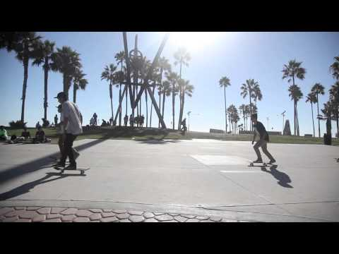watch Venice Beach, life and culture. California USA.