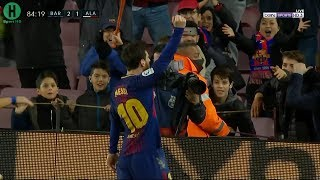 اهداف مباراة برشلونة  و ديبورتيفو ألافيس   2-1    الدوري الإسباني    28-1-2018 HD