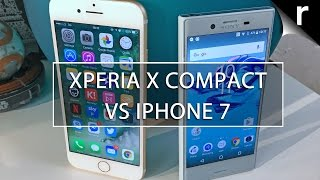 Sony Xperia X Compact vs iPhone 7: Battle of the mini mobiles