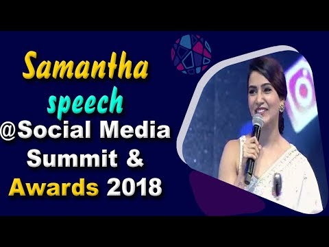 Xxx Mp4 Samantha Speech At Social Media Summit Amp Awards 2018 Social Media Awards ABN Entertainment 3gp Sex