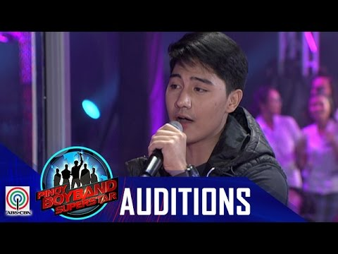 """Pinoy Boyband Superstar Judges' Auditions: Angelo Nabor – """"The Man Who Can't Be Moved"""""""