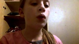 Finley singing ellie goulding burn (cover)