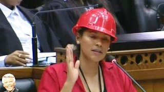 EFF New MP Hon Leigh-Ann Mathys Maiden Speech In Parliament