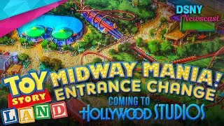 New Entrance for Toy Story Midway Mania at Disney