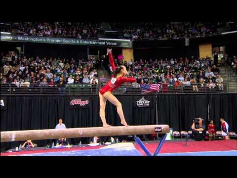 Katelyn Ohashi - Beam - 2012 Kellogg's Pacific Rim Championships
