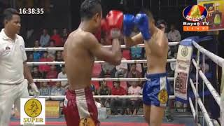 Khmer ឯម ឡេងលី  Vs  Arundeth ថៃ, Kun Khmer, Bayon Boxing
